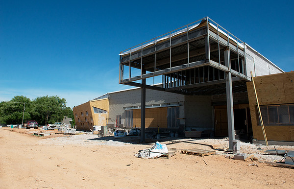 Goodman Elementary expects to build a FEMA safe room next to their new school.<br /> Globe | Roger Nomer