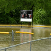 A field in Frank Dean Sports Complex lay submerged with scoreboard lights on near Carl Junction's Center Creek Park on Thursday morning.<br /> Globe | Laurie Sisk