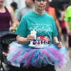 René Fryer runs the 10K in memory of Kayleigh Teal, one of the 161 victims who died as a result of the May 2011 tornado. Teal, 16, of Seneca, was killed while working at Pizza Hut in Joplin.<br /> Globe | Laurie Sisk