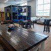 The common room at the Washington Hope Center includes an indoor playground.<br /> Globe | Roger Nomer
