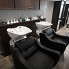 BEN GARVER — THE BERKSHIRE EAGLE<br /> Amy Zabian has opened Salon Lenox at 68 Main Street. Salon Lenox is a full service salon. These rinse sinks are imported from Italy and a favorite of customers.