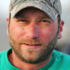 Globe/T. Rob Brown<br /> Matt McGee, of Joplin, construction manager with Joplin Area Habitat for Humanity