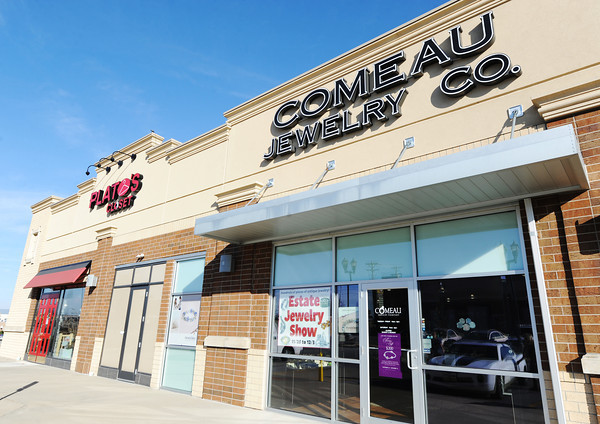 Globe/T. Rob Brown<br /> Comeau Jewelry's Joplin location is next door to Plato's Closet Thursday afternoon, Nov. 30, 2012.