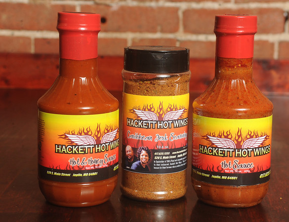Globe/Roger Nomer<br /> Hackett sauces and rubs