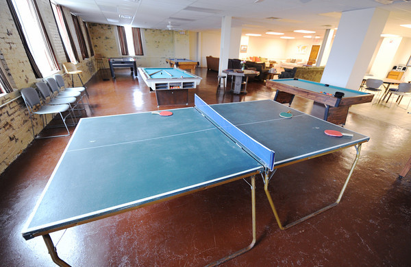 The recreation room at the Carthage Crisis Center Monday, Nov. 11, 2014.<br /> Globe | T. Rob Brown