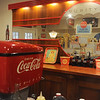 Globe/Roger Nomer<br /> Dave Mason purchased a soda fountain from Scammon, Kan., and restored it in his basement.