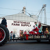 Globe/Roger Nomer<br /> Santa arrives in La Russell during Thursday's parade.