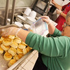 Globe/Roger Nomer<br /> Sandra Lawson works in the kitchen on Monday at Watered Gardens.