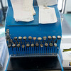 Globe/Roger Nomer<br /> The original cash register at Dude's Daylight Donuts was damaged in the tornado, but has been restored.
