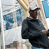Globe/Roger Nomer<br /> Abdulkadir Abdullahi checks his busy schedule of helping the Somali community in Noel.