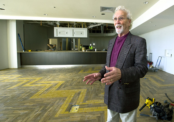 As construction continues on the new Holiday Inn on Range Line, Randy Shippy, manager of the Comfort Inn, Quality Inn and the new hotel, talks with enthusiasm about the oportunities in Joplin.<br /> Globe | Laurie Sisk