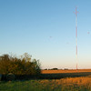 An Empire District Electric meteorological tower sits on Mark Petersons Liberal farm on Wednesday. Globe | Laurie Sisk