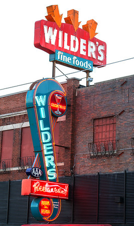 A federal grant obtained by the Route 66 Association will provide money for the repair of an historic neon sign that graces the exterior of Wilder's, a popular attraction in Joplin for decades.<br /> Globe | Laurie Sisk