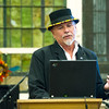 At the Historic Murphysburg Preservation, Inc.'s annual meeting on Wednesday night, Tulsa historian J.D. Colbert talks about the 1916 murder of wealthy Tulsa oillman Samuel C. Davis at 419 S. Jackson. The case remains unsolved more than a century later.<br /> Globe | Laurie Sisk