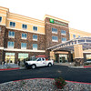 Work continues Wednesday on the new Holiday Inn on Range Line.<br /> Globe | Laurie Sisk