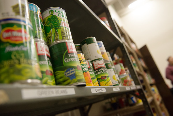 The new Lion Co-Op food pantry was opened on Tuesday to Missouri Southern students and staff. Globe | Roger Nomer