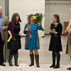 The ribbon is cut for the new Lion Co-Op food pantry on Tuesday.<br /> Globe | Roger Nomer