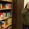 Stephanie Shaw, a Missouri Southern senior from Carl Junction, gives a tour of the new Lion Co-Op food pantry on Tuesday.<br /> Globe | Roger Nomer