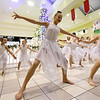 "The Solomon Studio Dancers entertain the crowd as they dance to ""Hallelujah"" during the Ronald McDonald House of the Four States' 17th annual Gift of Light, Gift of Love fundraiser on Thursday night at Northpark Mall. The annual fundraiser runs through December 31st.<br /> Globe 