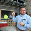 Erik Theis, Jasper County court administrator, talks about the new Juvenile Justice Center on Monday.<br /> Globe | Roger Nomer