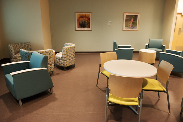 The new Mercy Inpatient Behavioral Health floor opens this week at Mercy Hospital.<br /> Globe   Roger Nomer