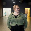 Becki Arnall, founder of the Dream Theatre Co., talks about her plans for a black box theater in downtown Joplin on Friday.<br /> Globe | Roger Nomer