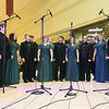 "Missouri Southern's Madrigal Singers entertain a large crowd with their rendition of ""Jingle Bell Rock"" during the Ronald McDonald House of the Four State's 18th Annual Gift of Light Gift of Love Campaign on Thursday night at Northpark Mall. The RMH has set a goal of raising $150,000 this year.<br /> Globe