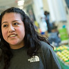 Naiam Perez, a Missouri Southern sophomore from Monett, talks about her experience as a first-generation student at Missouri Southern on Friday.<br /> Globe | Roger Nomer