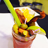 A bloody Mary from the bloody Mary bar at Club 1201, located at 1201 E. 32nd St., Joplin.<br /> Globe | T. Rob Brown