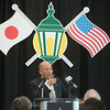Globe/Roger Nomer<br /> Ambassador Kenichiro Sasae gives his remarks on Thursday during a visit to Missouri Southern.