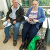 Breast cancer patient Linda Lacey, of Oronogo, sits with her husband, Larry Lacey at Mercy Hospital of Joplin.<br /> Globe | Laurie Sisk