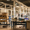 Globe/Roger Nomer<br /> The interior of the new EaglePicher plant is currently being set up.