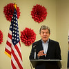Globe/Roger Nomer<br /> Sen. Roy Blunt talks about the Excellence in Mental Health Act on Wednesday at the Ozark Center INSPIRE Center.