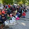 A large crowd begins to gather before the start of the Maple Leaf Parade on Saturday in Carthage.<br /> Globe | Laurie Sisk