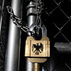 "A mysterious ""Eagle Lock"" stands as a key cog in the Escape: Zombie City experience in downtown Joplin.<br /> Globe 