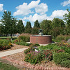 America in Bloom has awarded Carthage a 4-star rating on the city's appearance, including this garden at the Carthage Public Library.<br /> Globe | Roger Nomer