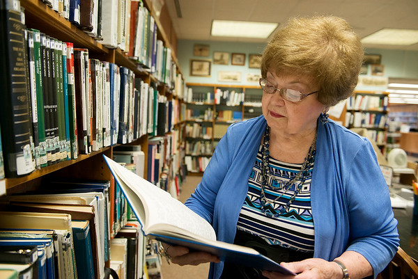 Barbara Becker is the geneology librarian at the Miami Public Library.<br /> Globe | Roger Nomer