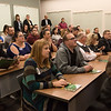Visitors listen to a presentation on STEM education at Missouri Southern on Friday during the annual economic development tour.<br /> Globe | Roger Nomer