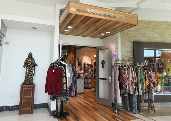 The Sisters Boutique sits inside Joplin Mercy Hospital and offers a full array of clothes, bras, wigs and inspirational accessories.<br /> Globe | Laurie Sisk