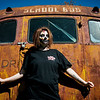 During the Halloween season, Meagan Pippin works at the Waco Schoolhouse Haunt.<br /> Globe | Roger Nomer
