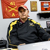 First Sergeant Richard Banks, of the Joplin High School JROTC talks about the history of the JROTC at the school on Thursday at JHS. The JHS JROTC will be celebrating its 100th Anniversary this spring.<br /> Globe | Laurie Sisk