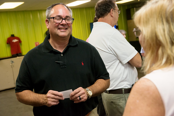 Jeff Jones was introduced as the new executive director of the Joplin Workshops on Monday.<br /> Globe | Roger Nomer