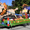 The Arvest Bank float dds to the magic during the Maple Leaf Parade on Saturday in Carthage.<br /> Globe | Laurie Sisk