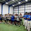 Crowder College athletes attend the opening of the Freeman Fieldhouse on campus on Tuesday.<br /> Globe | Roger Nomer