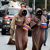 Characters from Star Wars make their way along the parade route during the 53rd Annual Maple Leaf Parade in Carthage on Saturday.<br /> Globe | Laurie Sisk