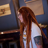 Tiffany Artinger talks about her family's new brewery in Alba on Thursday.<br /> Globe | Roger Nomer