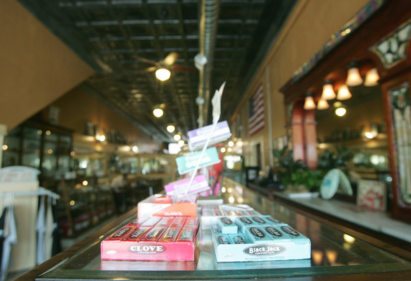 Globe/Roger Nomer<br /> In addition to making its own candy, the Minerva Candy Company sells classic candy.  The candy company is celebrating its 100th anniversary in Webb City.
