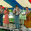 Members of The Farnum Family entertain the crowd with music from the 1800s at the George Washington Carver National Monument's Prairie Day on Saturday at the park.<br /> Globe | Laurie Sisk
