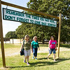 From the left: Cathy McCord, of Joplin, Nedra Clawson, of Ellaville, Ga. and Lisa Nelson, of Joplin, return Friday to a place of their youth for the Camp Mintahama Reunion Roundup, which takes place this weekend at the camp. <br /> Globe | Laurie Sisk