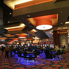 Globe/Roger Nomer<br /> People crowd the gaming floor on the first day of business at the Indigo Sky Casino.